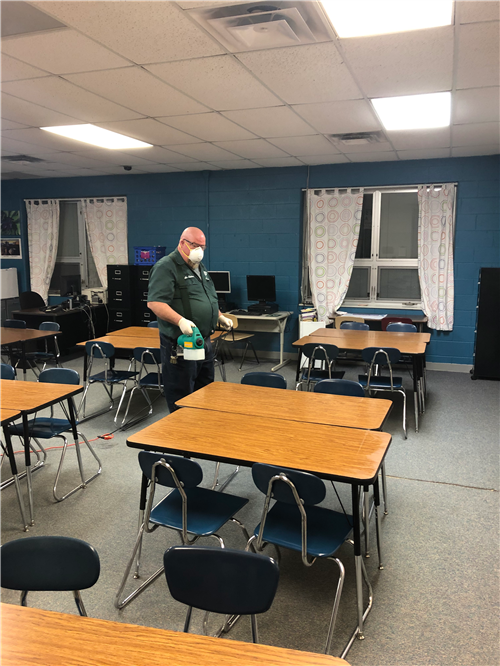 Facilities Cleaning, March 2020