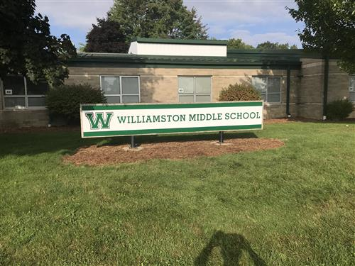 New WMS Sign