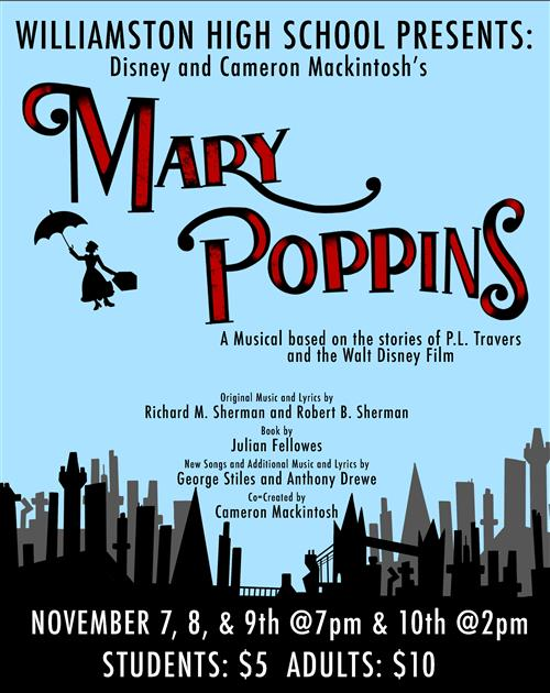 Mary Poppins, 2019 Flyer