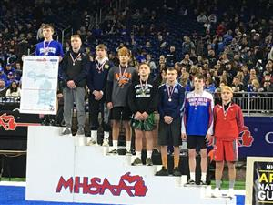 WHS Junior Calvin placed 5th in the 2020 State Wrestling Tournament