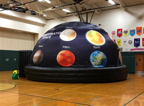 Curiosity Dome at Discovery Elementary