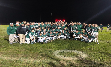 WHS Football Team Wins District Title