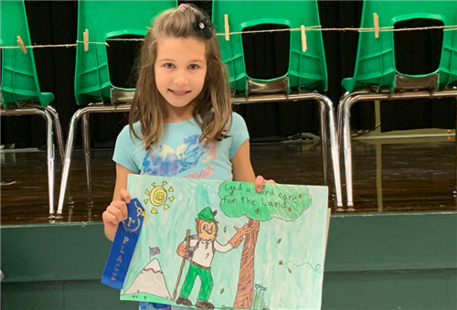 Smokey Bear/Woodsy Owl Poster Competition 2019
