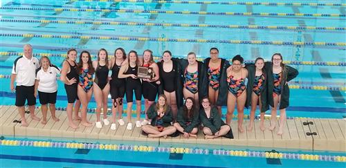 Girls Swimming Champs 2018
