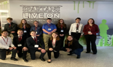 WMS Model UN Team at RCMUN Conference, FEB 2020