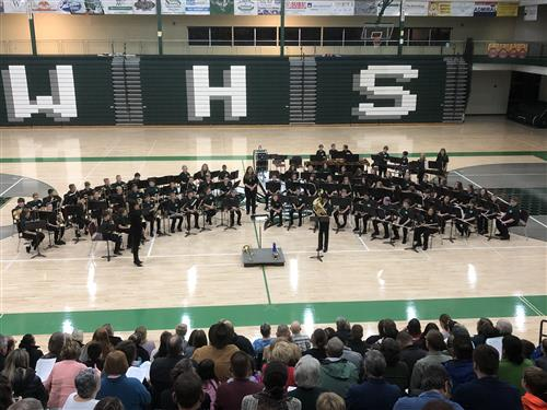 "Williamston Middle School Band ""Inform""ance"