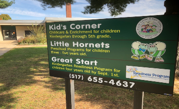 Kids' Corner and Little Hornets