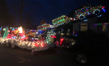 WCS Transportation Float, Light Parade 2019