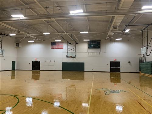 WMS Gym after refurbishing project