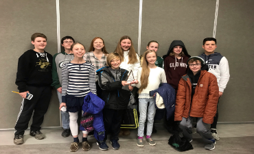 Williamston Middle School Math Counts Team