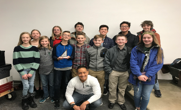 Williamston Middle School 2020 MathCounts Team