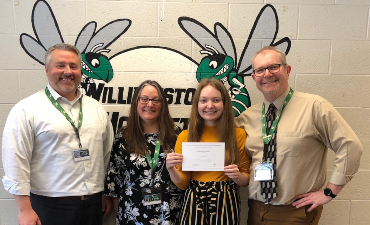 WHS Senior, Jenna, named 2020 National Merit Finalist