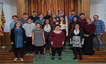 Madrigals at Olivet College 2019