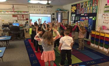 GoNoodle Classroom of the Month