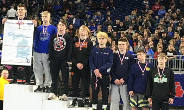 Ryker, a WHS Sophomore, claimed the D3, 125 pound State Wrestling Championship