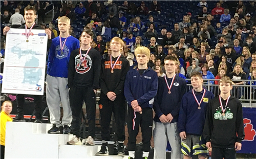Ryker, a WHS Sophomore, claimed the 125 pound state wrestling championship