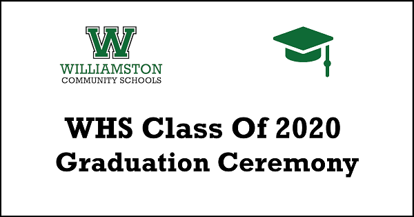 WHS Class of 2020 Graduation Ceremony
