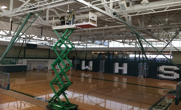WHS Performance Gym LED Lights