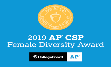 2020 College Board Computer Science Female Diversity Award