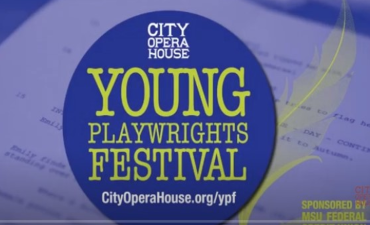 10th Annual Young Playwrights Festival Banner